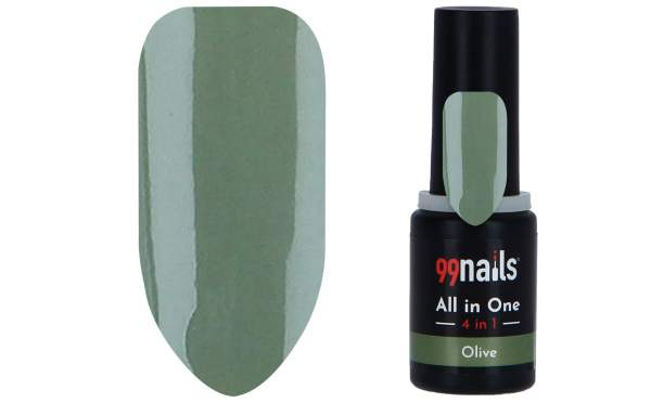 All in One - 4 IN 1 Gellack Olive