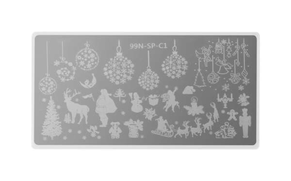 Stamping Plate Special - White Christmas