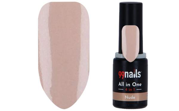 All in One - 4 IN 1 Gellack Nude