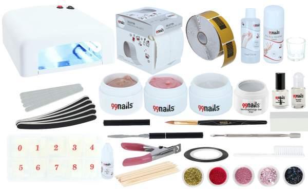 Acryl Gel Starter Set - Acrylnägel Set Deluxe