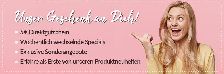 5€ Direktgutschein - Newsletter abonnieren!