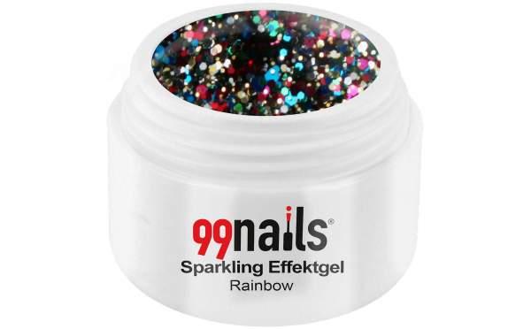 Sparkling Effektgel - Rainbow 5ml