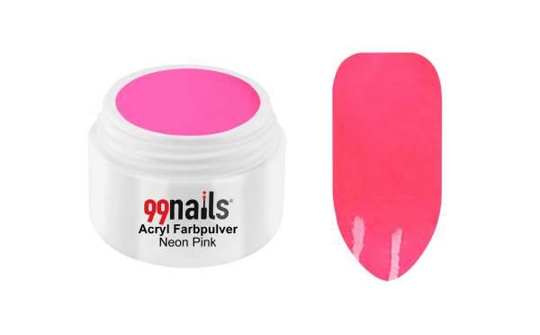 Acryl Farbpulver - Neon Pink 7g
