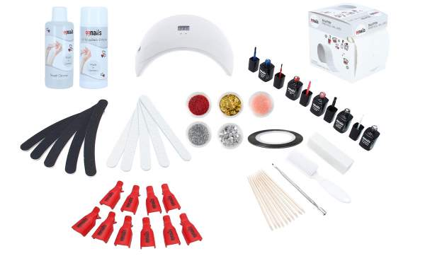 UV Nagellack Starter Set - LED Basic