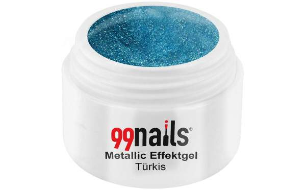 Metallic Effektgel - Türkis 5ml