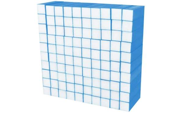 100x Schleifblock / Buffer Neon Blau Körnung 180