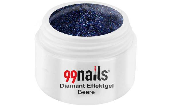 Diamant Effektgel - Beere 5ml