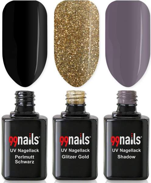 UV Nagellack Set - Pure Glamour 12ml