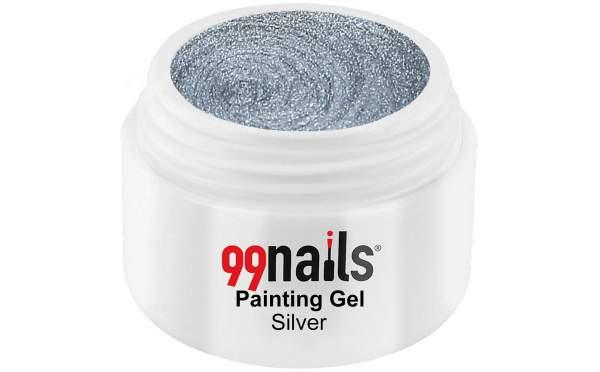 Painting Gel - Silver 5ml