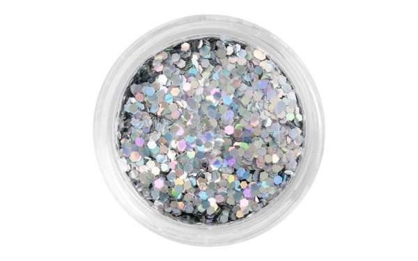 Nailart Pailletten klein Silver