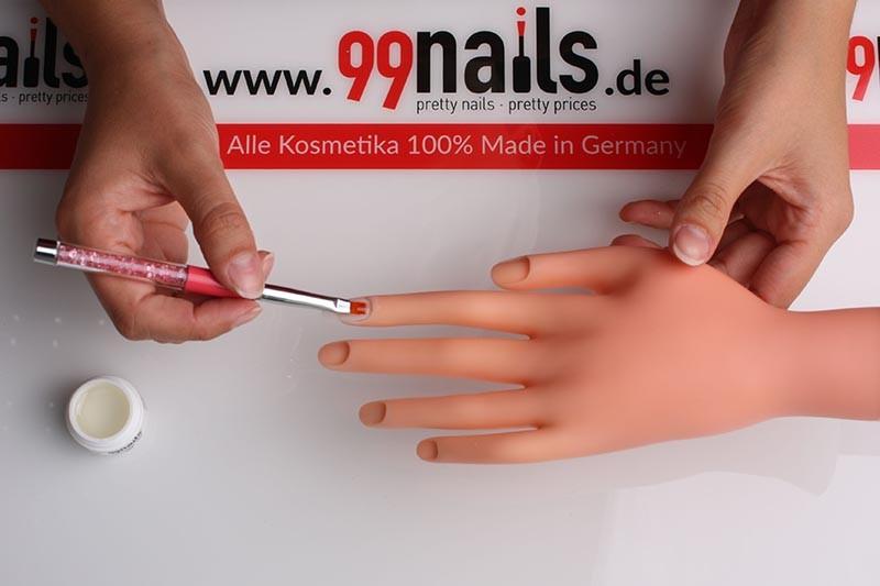 Naturnagelverstarkung Verstarkung Der Nagel Mit Gel