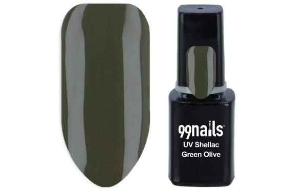 UV Shellac - Green Olive 12ml