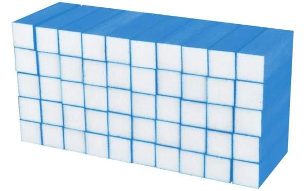 50x Schleifblock / Buffer Neon Blau Körnung 180